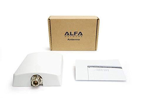 Alfa APA-L2410 2.4 GHz 10 dBi Directional Panel Antenna for Camp Pro 2, Bullet 10 Dbi Panel Antenna