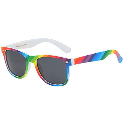 4e40d96b19441 Polarspex Polarized 80 s Retro Classic Trendy Stylish Sunglasses for Men  Women