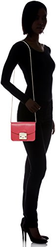 FURLA Metropolis Crossbody Cross Bag Red Mini Ruby Body Women's 44xw6rq7a