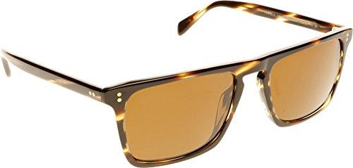 Oliver Peoples 5189 1003N9 Cocobolo Bernardo Wayfarer Sunglasses Polarised ()