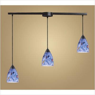 Classico Pendant in Dark Rust Glass Type: Simply -