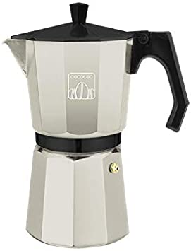 Cecotec cafetera italiana Mimoka 600 Beige fabricada en aluminio ...