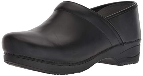 Dansko XP 2.0 Mens Clog, Black Burnished Nubuck, 44 M EU (10.5-11 US)