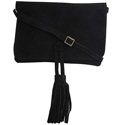 Suede Leather Evening Bag...