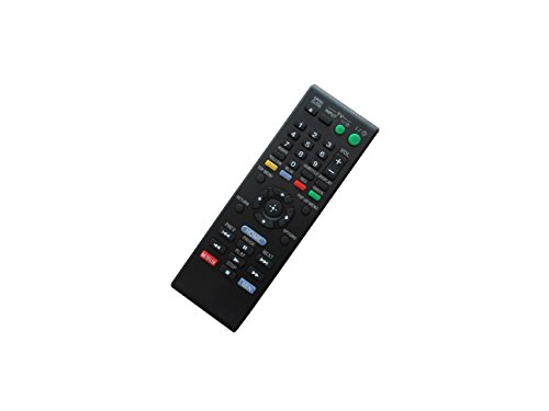 Hotsmtbang Replacement Remote Control For Sony BDP-S1100 BDP-S380 BDP-S480 BDP-S185 BDP-S186 BDP-BX18 BDP-S560 Blu-ray 3D Disc DVD Player (Sony Bdp S480 3d Blu Ray Disc Player)