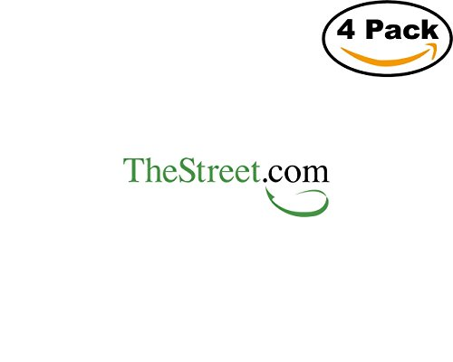 Thestreet Com 4 Stickers 4X4 Inches Car Bumper Window Sticker Decal