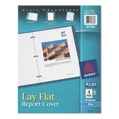 - (6 Pack Value Bundle) AVE47780 Polypropylene Report Cover, Flex Fastener, Letter, 1/2