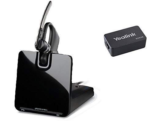 Yealink Compatible Plantronics Legend CS Bluetooth EHS Bundle For Smartphones & Yealink phones: SIP-T48G, SIP-T46G, SIP-T41P, SIP-T38G, SIP-T29G, SIP-T28P, SIP-T27P, SIP-T26P