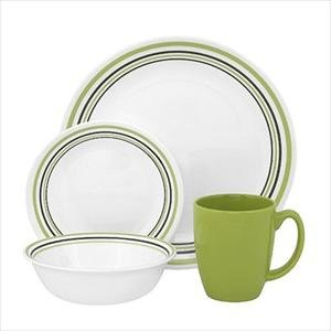 Corelle® Livingware 16-Piece Set, Service for 4, Garden Sketch
