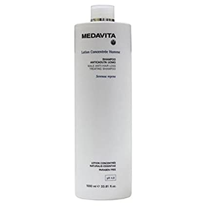 Medavita Shampoo Lotion Concentree Hombre Anticaída 1000 ml