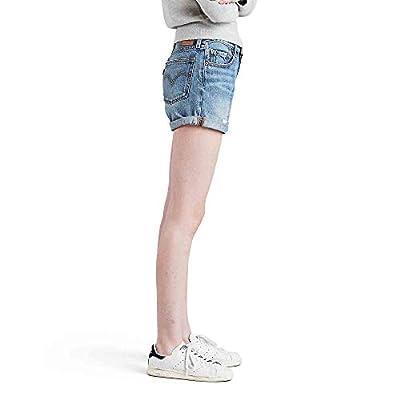 Levi's 501 Long Shorts at Women's Clothing store