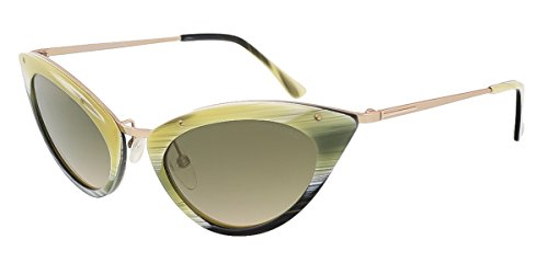 Tom Ford Women's FT0349 Grace Sunglasses, Colored - Ford Tom Ladies