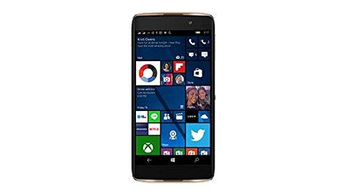 bolsa del cinturón / funda para Alcatel Idol 4S Windows, negro + Auriculares | caja del teléfono cubierta protectora bolso - K-S-Trade (TM)