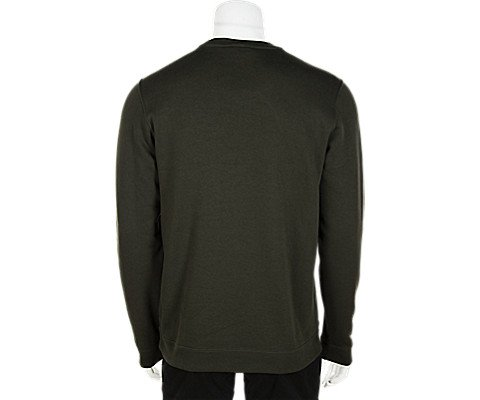 Nike Men's Sportswear Crew (Black/University Red/White, Small) (XX-Large) (Small, Green) by Nike (Image #1)