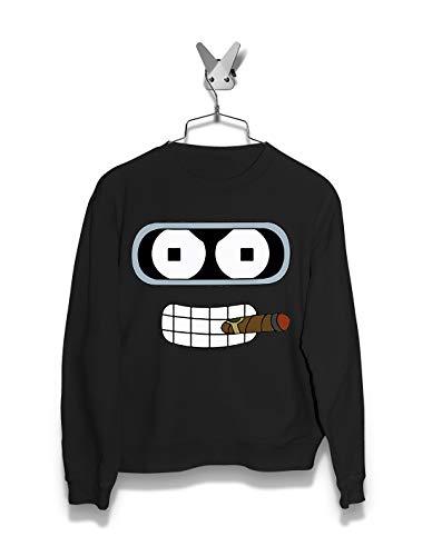 Women Hoodie & Sweatshirts | Robot Bender | Futurama | Streetwear | Netflix | Graphic Fashion
