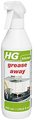 HG International Grease Away - Degreaser for Home Kitchen Appliances and Countertops - 16.9 Fluid Ounces