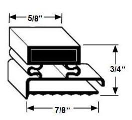 Door Gasket III by Industrial Industries Inc