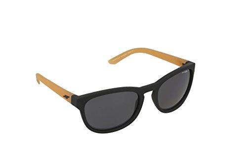 Arnette Pleasantville 4219 Sunglasses  Black Yellow Grey POLARIZED 2323/81 - Mens Sunglasses Lv