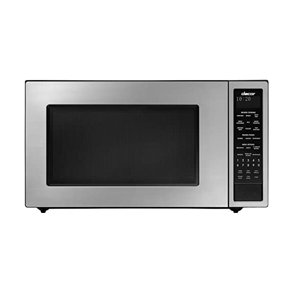 Dacor DMW2420S Distinctive Series Counter Top or Built Microwave, Stainless 1