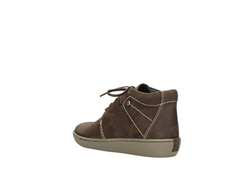 Babylon Olied 50300 Brown Wolky 08126 Comfort Lace Nubuck up shoes qwXUx18vg