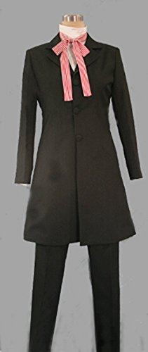 Camplayco Black Butler Grell Sutcliff New Version Cosplay Costume-made