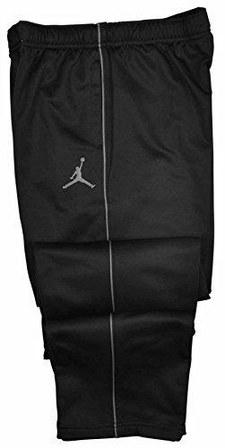 85c7dd474cd010 Galleon - NIKE Jordan Big Boys (8-20) Therma-Fit Jumpman Track Pants-Black  Grey-Medium