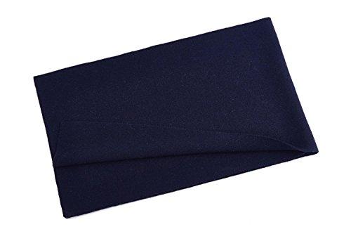 VINMEN Men Winter Cashmere Scarf Solid Scarves, Luxury Gift