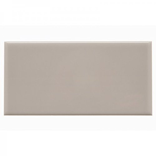 - Beige Crackle 3x6 Subway Tile Backsplash, Kitchen, Walls, Countertop, Bathroom, Herringbone (Sample)