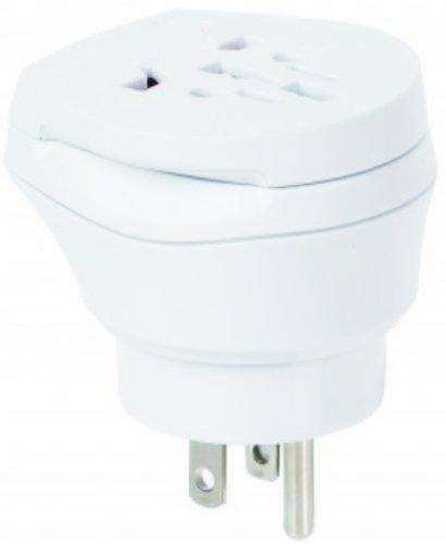 Juego de 2Mundo combinado–Conector adaptador de corriente de viaje adaptador para Países Bajos en China para enchufes con enchufe, Euro, 2Pol y 3pines corriente enchufe–nl de CN (Travel Plug Adap