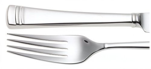 Lenox Federal Platinum 5-Piece Stainless Steel Flatware Place Setting, Service for 1