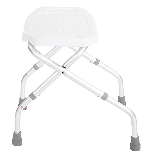 Badhocker und Sitze, höhenverstellbarer Duschstuhl Klappbad Bad Behinderung Hilfe Hocker Saug Stil stabile Füße