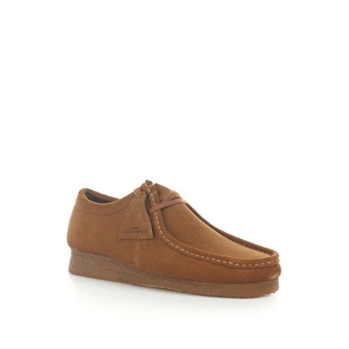Suede Uomo Clarks Cola Mocassini Originals Wallabee UOBqPT