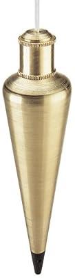 Empire Level 912BR 12-Ounce Brass Plumb Bob by Empire Level