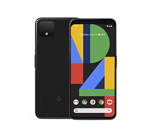 Google Pixel 4 XL - Just Black - 128GB - Unlocked (Renewed)
