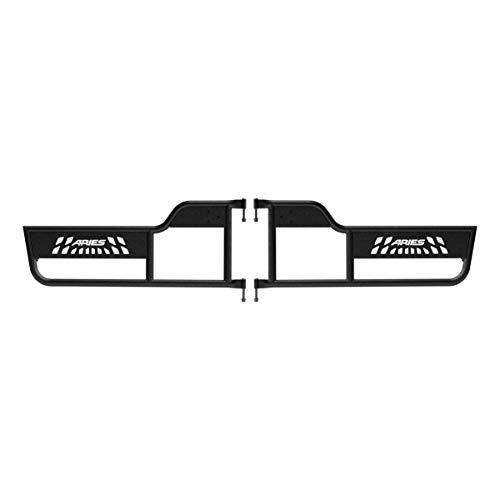 ARIES 1500100 Black Aluminum Jeep Wrangler TJ Tube Half Doors