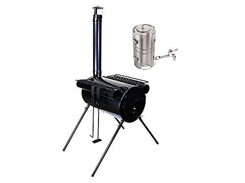 ice fishing wood stove - 3