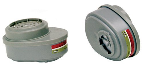 MSA Safety Works 817667 Replacement Cartridges for Multi-Purpose Respirator