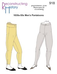 [1830s-50s Pantaloons Pattern] (Period Costumes 1830)