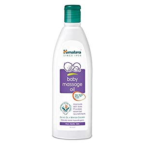 Himalaya Herbals Baby Massage Oil (50ml)