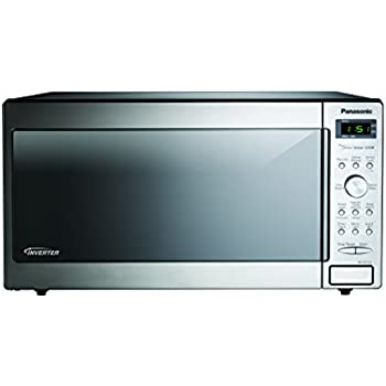 Panasonic NN-SD772SAZ Stainless 1.6 Cu. Ft. Countertop/Built-In Microwave with Inverter Technology