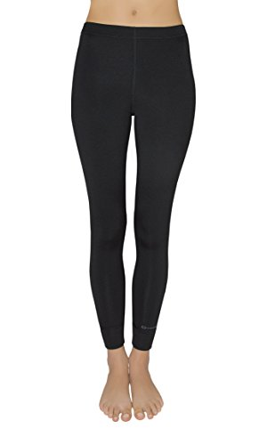 Gwinner Damen Warmline Thermo-Funktionsunterwäsche Leggins Top II, schwarz, M