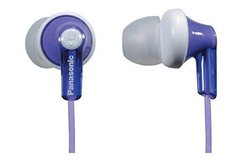 Earbud Ipod Panasonic (Panasonic In-Ear Lightweight Water-Resistant Active Sport Stereo Headphones (Violet))
