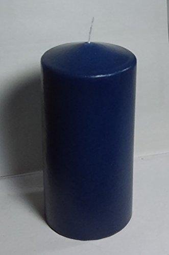 pillar candles blue - 5