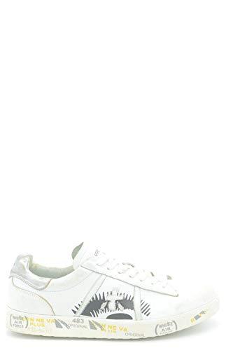 Cuero Mcbi36594 Blanco Zapatillas Premiata Mujer ZnUz6wxP