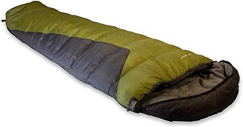 High Peak Schlafsack TR 300, extra breit, 3-4 Jahreszeiten, Temperatur 0°C, warm, Packsack, koppelbar, Camping, Festival…