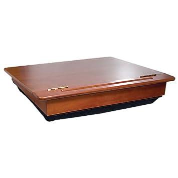 amazon com old school mahogany wooden lap desk health personal care rh amazon com wooden lap desk plans wooden lap desk history