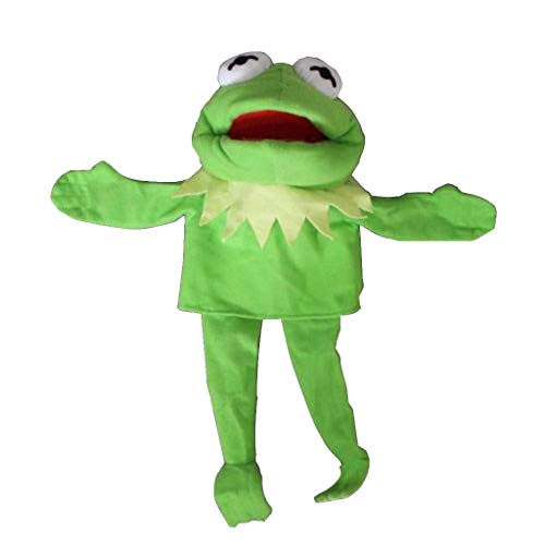Ktyssp Frogs Plush Doll Hand Muppets Most Wanted Show Kermit The Puppet Toy Gift ()