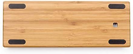 Bois de Bambou Coque 60% GH60Dz60Clavier mécanique