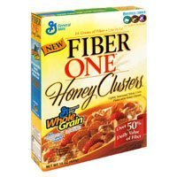 Fiber One Honey Clusters Whole Grain Cereal, 14.25 oz by Fiber One