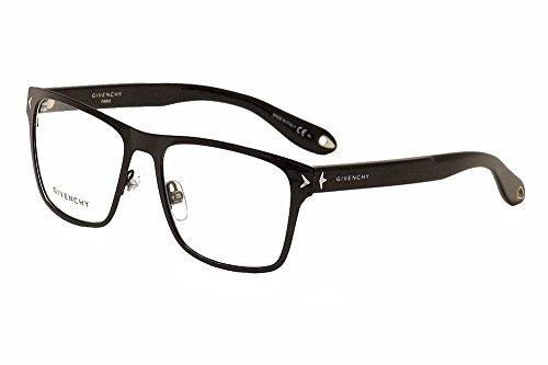 Givenchy Eyeglasses GV 0011 GV|0011 65Z Black|Silver Full Rim Optical Frame 55mm